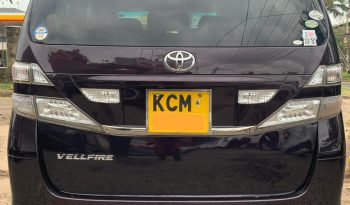 Locally Used 2010 Toyota Vellfire full