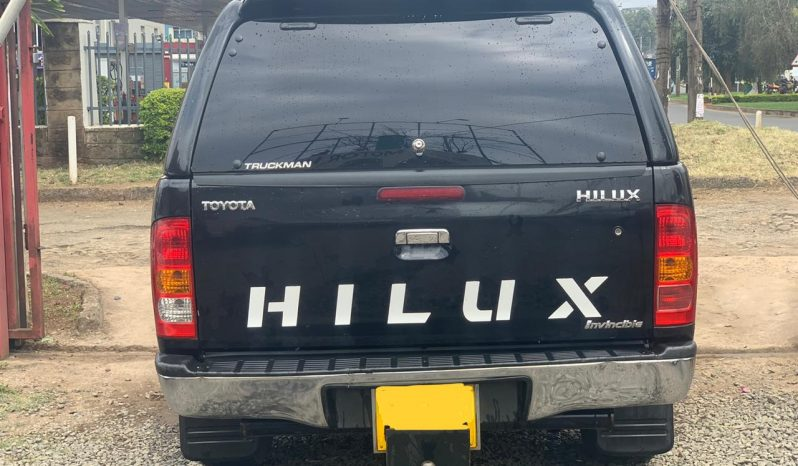 Locally Used 2010 Toyota Hilux full